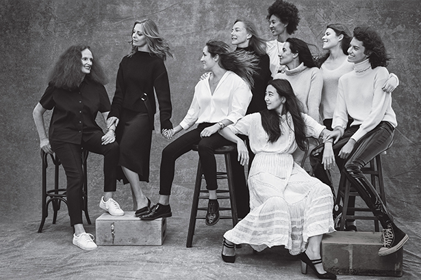 Grace Coddington and her disciples.