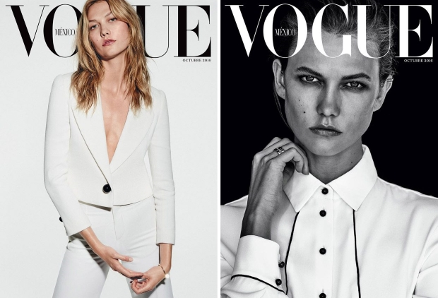 Vogue Mexico & Latin America October 2016 : Karlie Kloss by Chris Colls