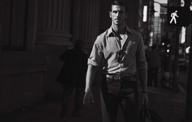 JT Besins in Everywhere Man - VMan Spring 2012