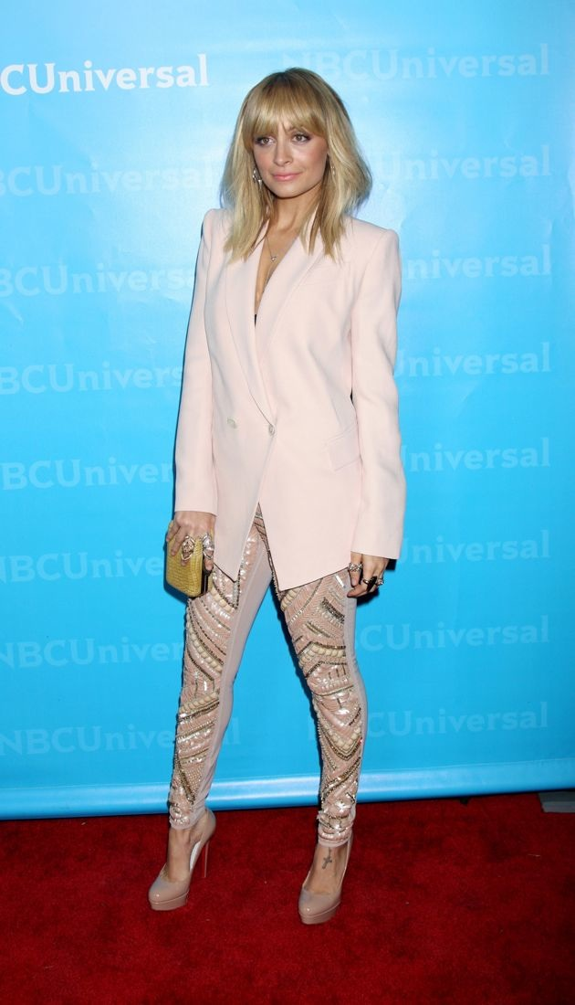 Nicole Richie NBC Universal Winter Tour party Los Angeles