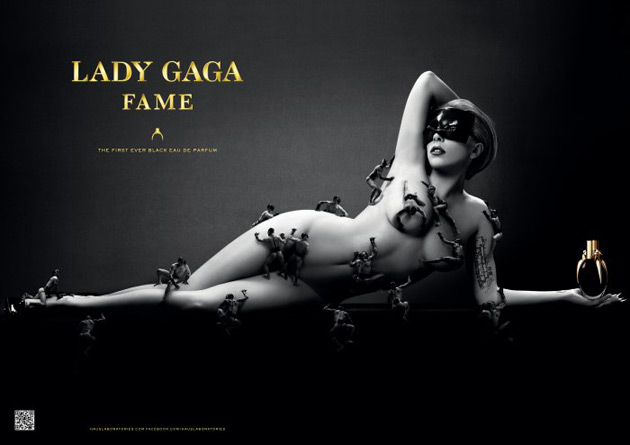 Lady Gaga Fame ad by Steven Klein