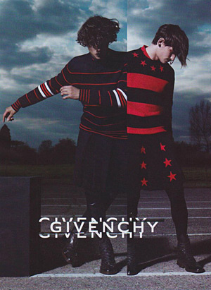 Givenchy Fall 2012 by Mert & Marcus