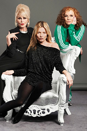 Kate Moss Absolutely Fabulous promo