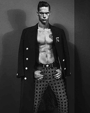 Versace Fall 2012 ad campaign