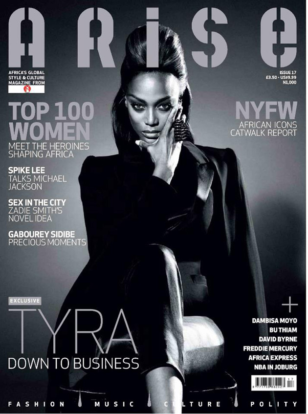 Tyra Banks on ARISE Issue 17