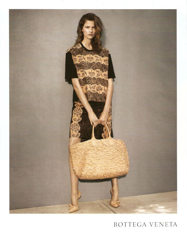 Bottega Veneta Resort 2013 - Bette Franke