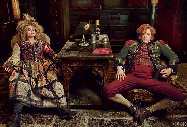 Dreaming a Dream - Les Miserables editorial - Vogue Dec 2012 - photographed by Annie Leibovitz