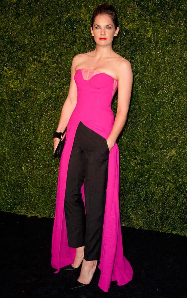 Ruth Wilson Pulls Off Dior's Pants-Dress Combo