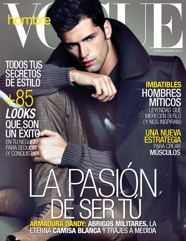 Vogue Mexico November 2012 - Sean O'Pry
