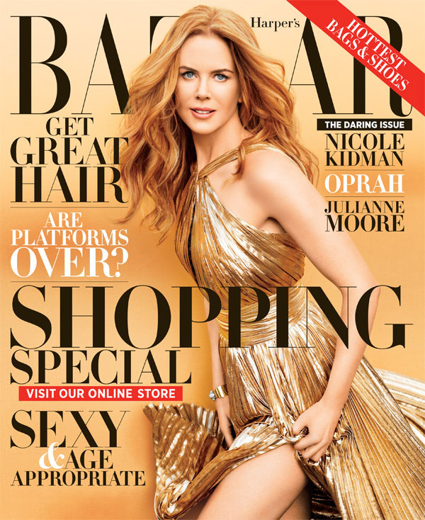 Nicole Kidman by Terry Richardson - Harper's Bazaar November 2012