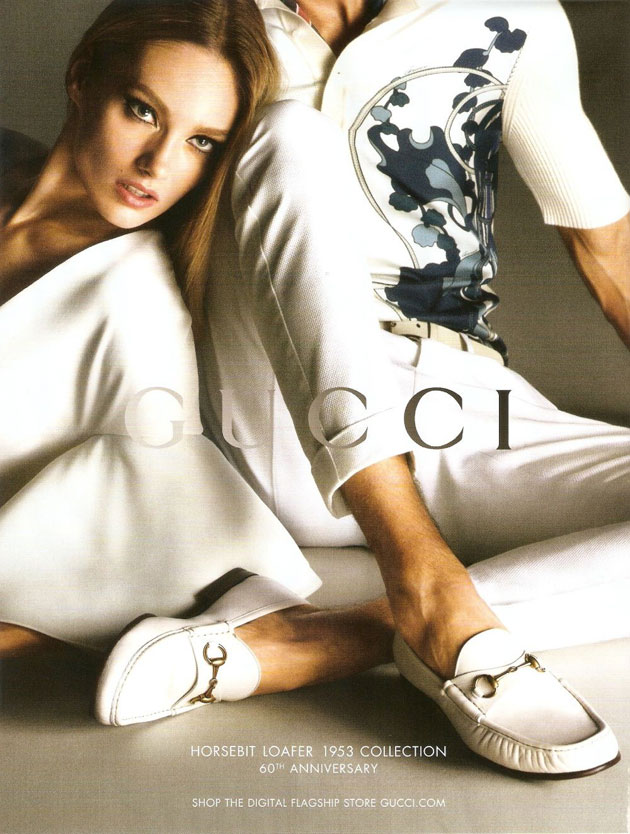 Gucci Spring 2013 ad campaign - Karmen Pedaru photographed by Mert & Marcus