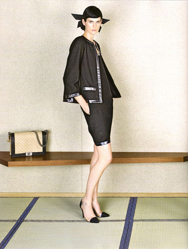 Stella Tennant for Chanel Spring 2013 - photographed by Karl Lagerfeld
